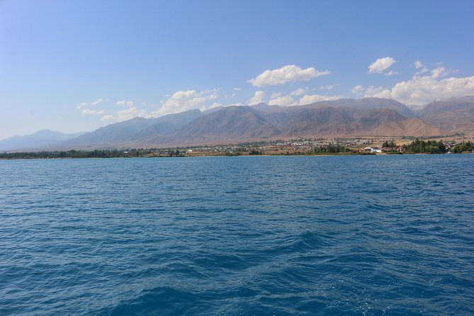 Immense and breathtaking Issyk Kul lake in 1day