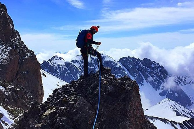 Climbing Mount Kazbegi