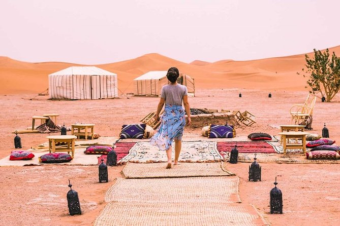 3 day tour from Marrakech to Fes including camel trek to Luxury Camp