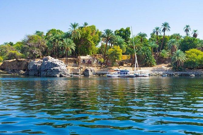 Aswan : River Nile Felucca Trip to Botanical island & Entrance fees