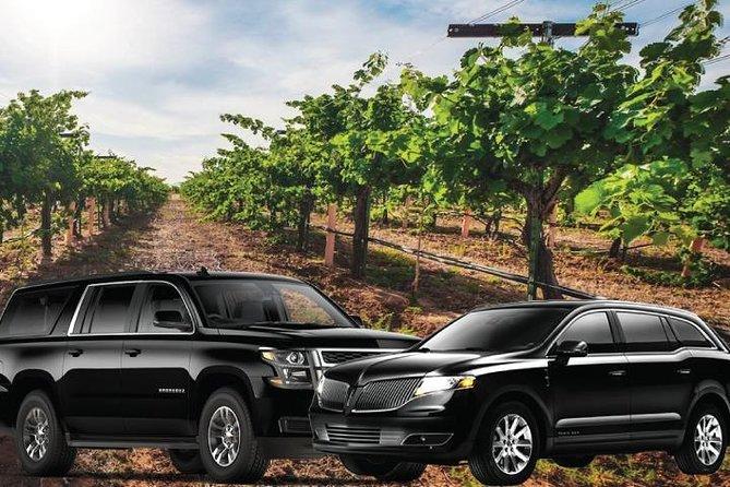 Napa Valley or Sonoma Wine Tasting Tours - 8 Hours (Sedan or SUV)
