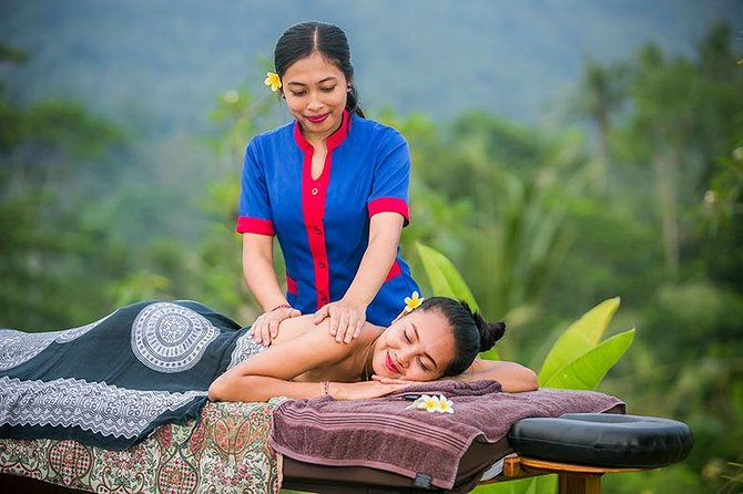 Full-Day Bali Spa Packages and Exploring Tour to Uluwatu Temple