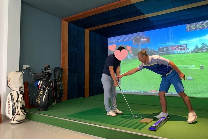 Beginner's Lesson at K Screen Golf Nha Trang