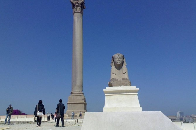Giza and Alexandria Guided Tour Package (2 days)
