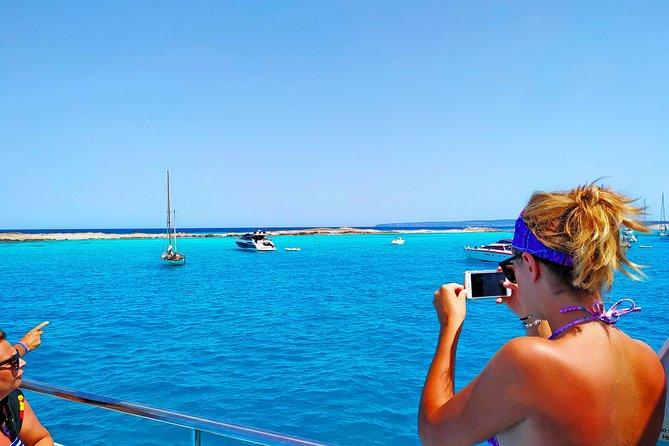 Es Vedra and Calas de Ibiza and Formentera Sea Experience Ibiza