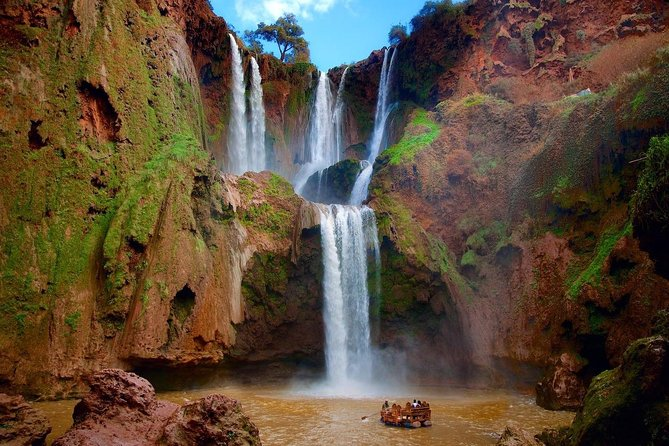 Shared Group Day trip from Marrakech Ouzoud waterfall