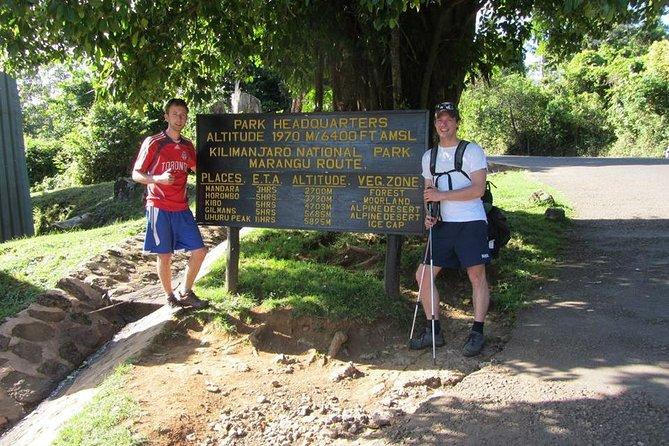 Kilimanjaro Trekking Marangu Route- 5 Days