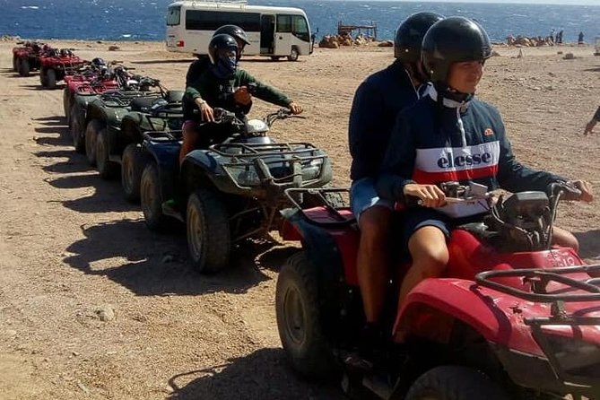 "Magic Trip ""quad bike safari, camel riding, Intro Dive"""