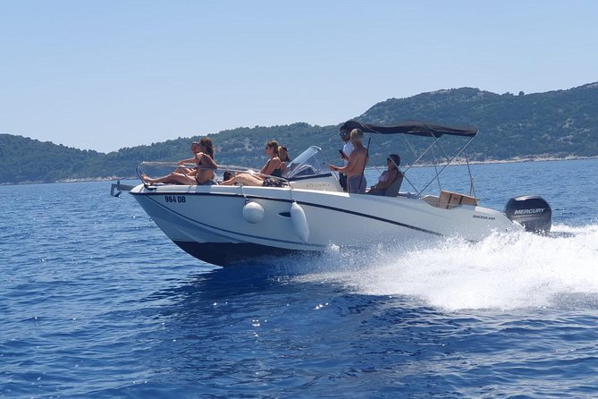Full-Day Elafiti Islands Private Speed Boat Tour by Quicksilver 675