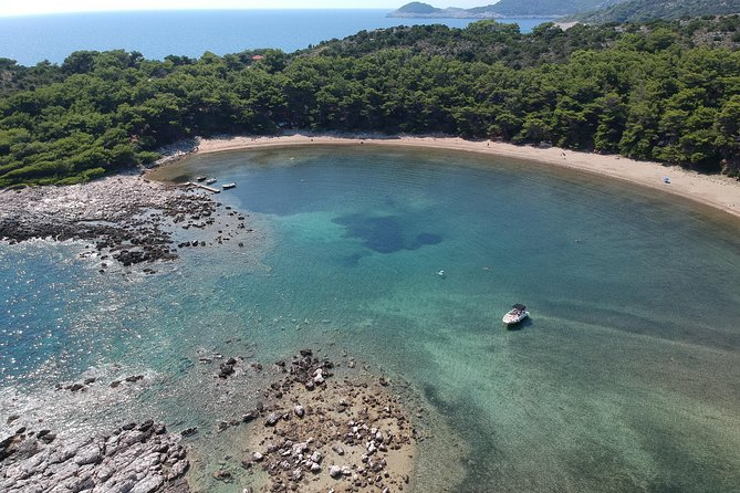 8 hours Mljet Island Private Tour by Quicksilver 675