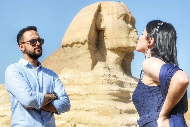 Explore Giza Pyramids, Sakkara, Memphis and Dahshur.