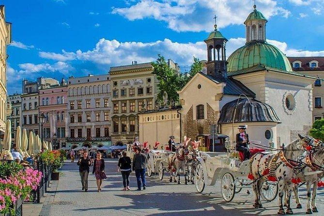 Krakow Airport Transfers : Krakow Airport KRK to Krakow City in Luxury Van