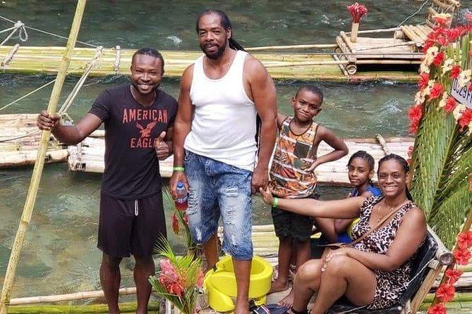 Bamboo River Rafting From Ocho Rios, Negril & Montego Bay