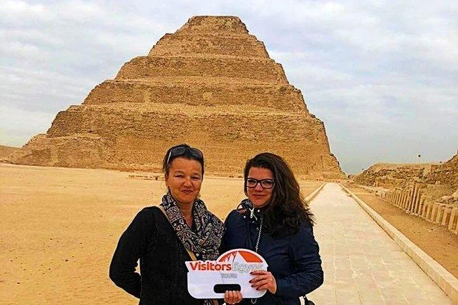 Amazing Day Tour to Pyramids, Memphis and Sakkara