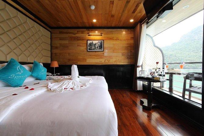 Serenity Cruise - Luxury Cruise in Ha Long & Lan Ha Bay ( 2 Days 1 Night Tour )