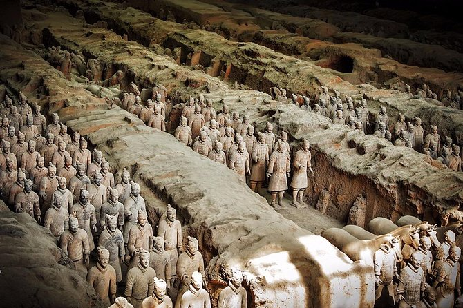 Private Lanzhou Bullet Train Trip to Xi'an: Terracotta Warriors and City Wall