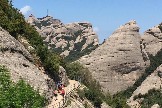 Montserrat Monastery and Hiking Experience from Barcelona