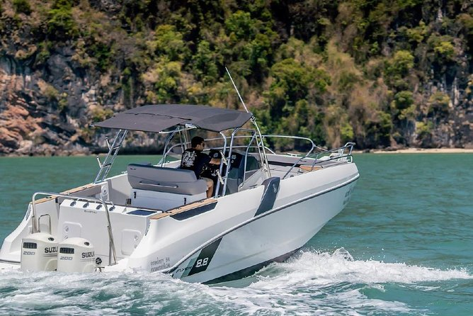 Full Day Private Charter to Phang Nga by Beneteau Flyer 8.8 (Maximum 6 Pax)