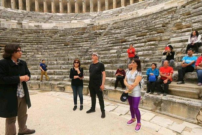 Antalya Archeology Museum + Perge + Aspendos Tour
