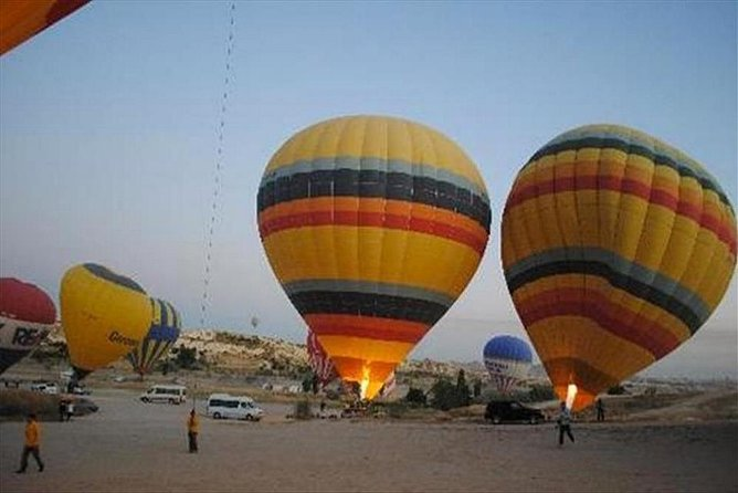 Private trip: balloon, east, lunch and felucca