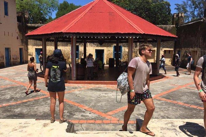 Nakupenda Sandbank and Prison Island Tour
