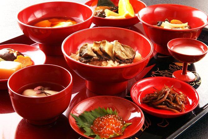 Lord's cuisine & Matsumae walk & Hot spring bathing tour