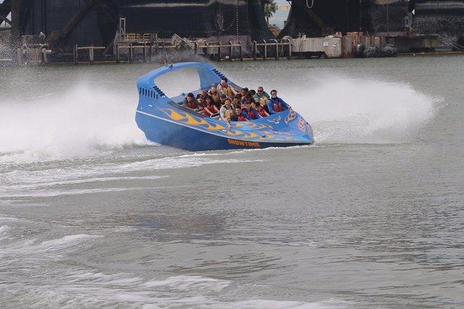 Galveston Suntime Jet Boat Thrill Ride