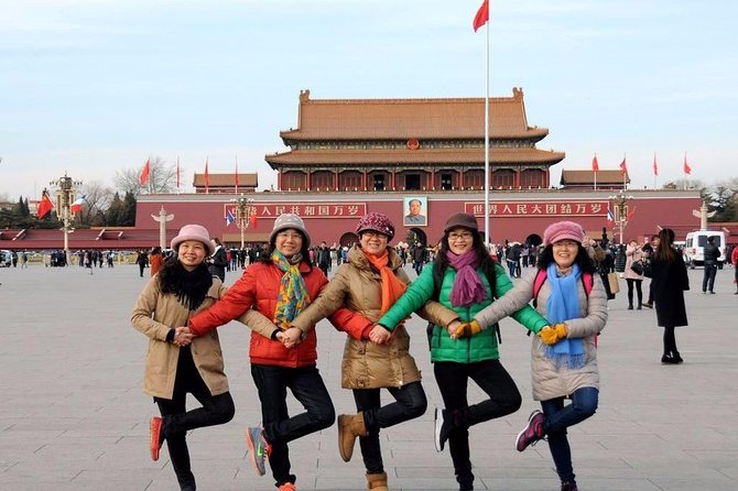 2-Day Private Beijing Tour from Lanzhou: Great Wall, Forbidden City and More