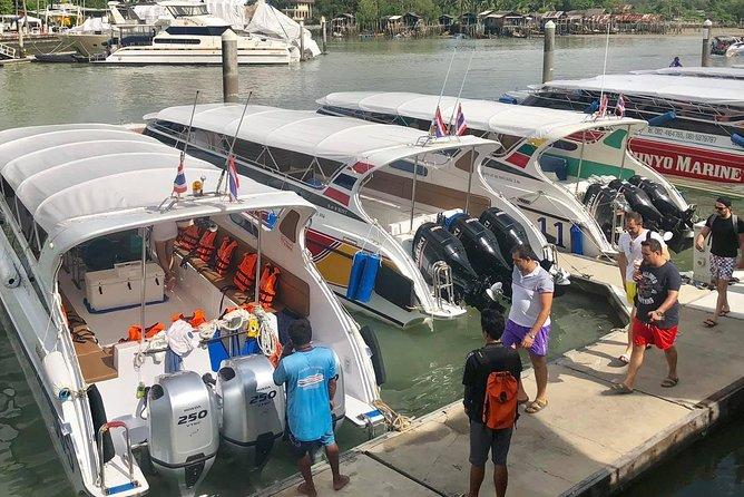 Private Speed Boat to Maya Bay, Monkey Beach at Phi Phi Island