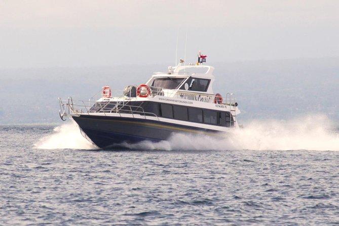 Nusa Penida Fast Boat Service with Hotel Pick Up Departing Sanur Port