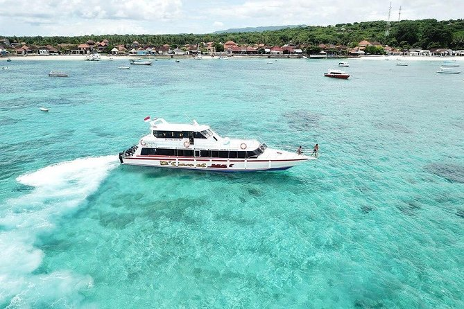 Nusa Penida Fast Boat Service with Hotel Pick Up Departing Sanur Port