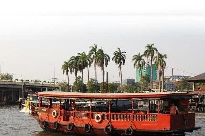 Venice of the East : Rice Barge River Cruise at Bangkok Admission Ticket