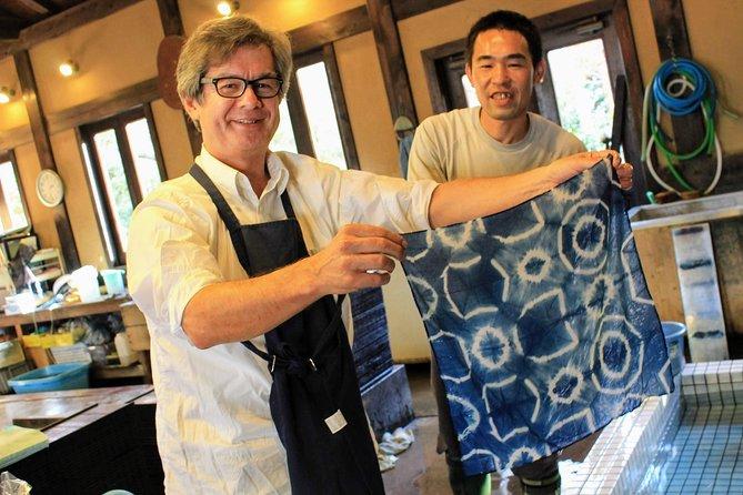 Tokyo 1-Day Indigo Dyeing & Sake Brewery Tour