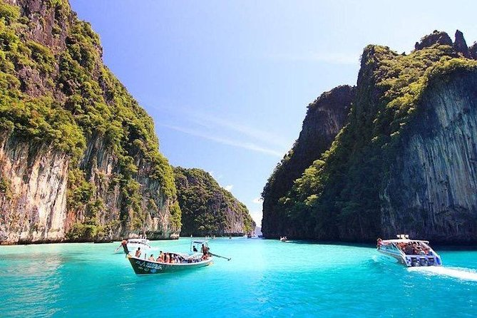 Full Day Tour of Phi Phi Island by Big Boat from Rasada Pier, Phuket