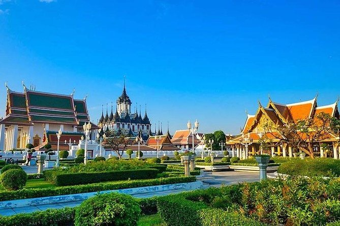 Old Town City Tour of Bangkok with Wat Suthat, Wat Saket & Wat Ratchanadda