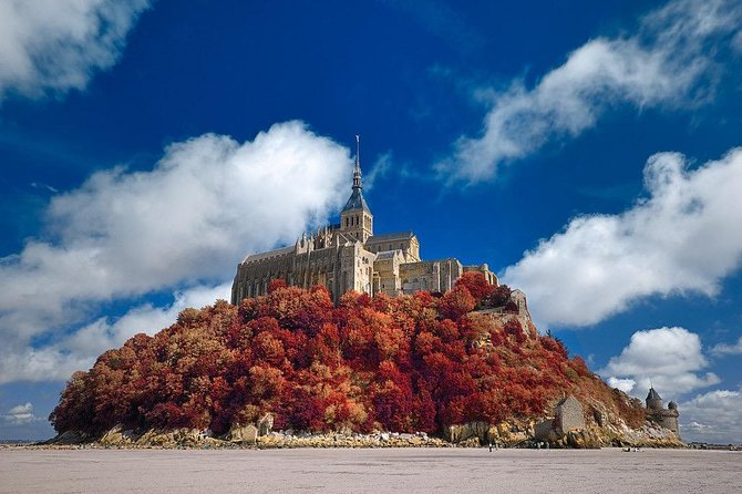 Private 9-hour tour to Mont St-Michel from Le Havre with private driver/guide