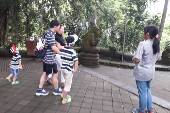 Bali Kids Tour to Monkey Forest, Ubud & Balinese Art Carving