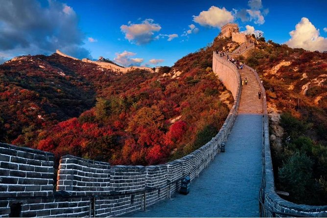 Beijing Private One Day Tour to Visit Badaling Great Wall and Ming Dynasty Tombs