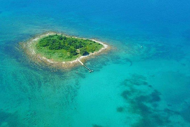 Snorkeling on island