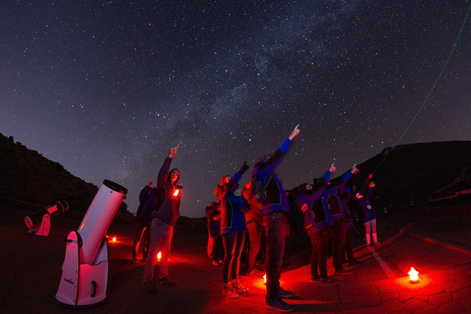 PURE STARGAZING telescope observations on mount Teide