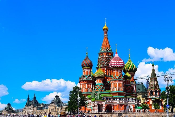 Moscow by Yourself with English Chauffeur by Business Sedan