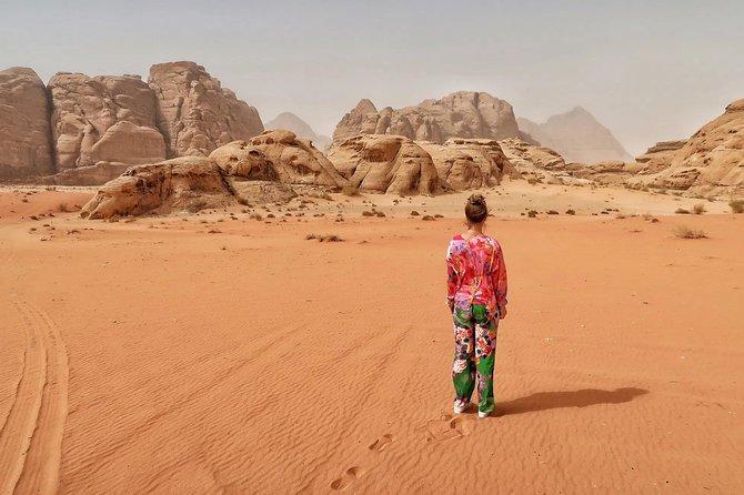 Jordan Horizons Tours : 05 Hrs Jeep tour in Wadi Rum
