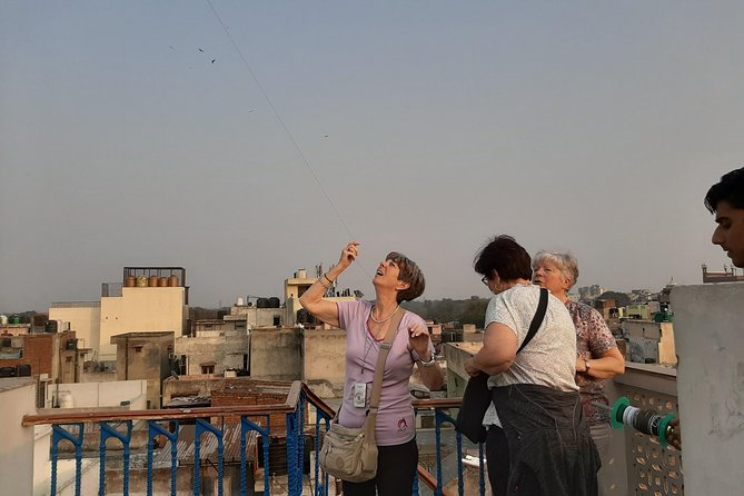 Kite Flying & Hi Tea overlooking Old Delhi