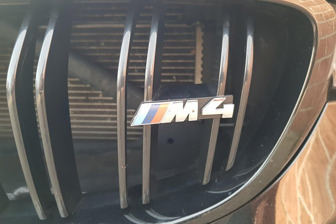 Test Drive BMW M4 Competition Cabrio on a Race Track near Milan including Video