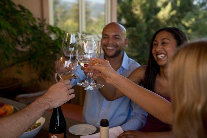 Taste a flight of Merryvale Wines before lunch