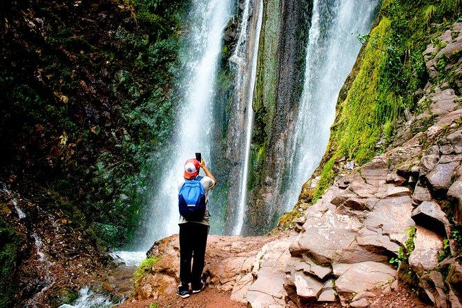 Inca Chincheros Trail to poc poc waterfall - Sacred Valley