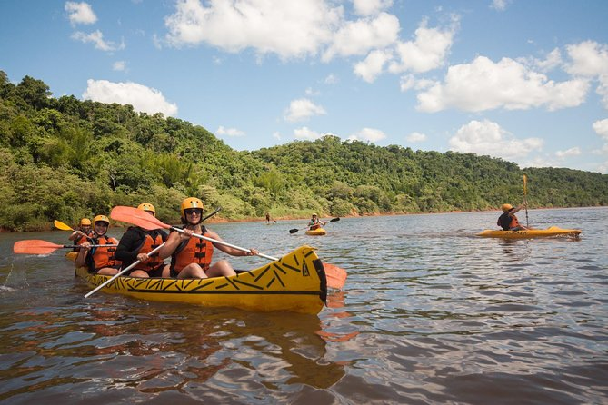 Guided Expedition with Canoeing and Waterfalls in Iguaçu