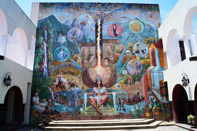 History of Tequila Mural