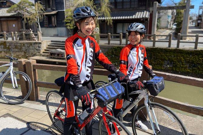 [Narita Airport Terminals 1, 2] 40-60km Sawara Itako Historic Bike Tour
