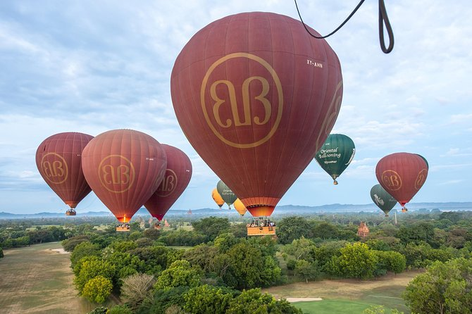 Mini Group: Ballooning Experience In Bagan (Premium Flights)